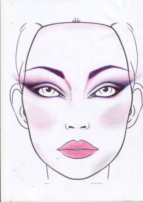 dessin tuto make up
