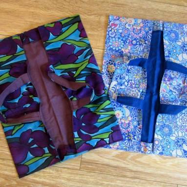 Idée cadeau : le sac à tarte pour transporter ses quiches et avoir la classe