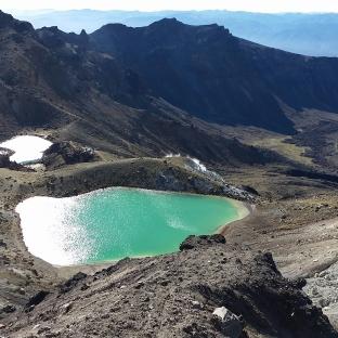 blue lake, Tongariro alpine crossing (un des meilleurs trecks à la journée)